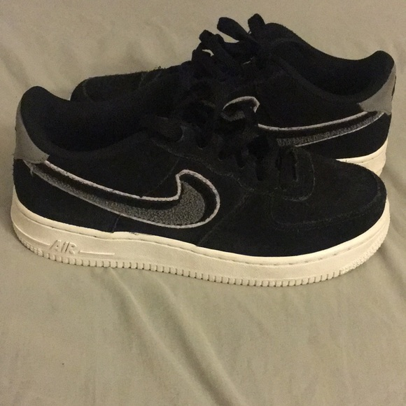 Nike Air Force Low 3d Chenille Swoosh
